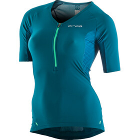 ORCA 226 Perform Sleeved Tri Top Dames, green